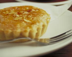 almond tart description a 7 5cm single serve tart with a rich filling ...